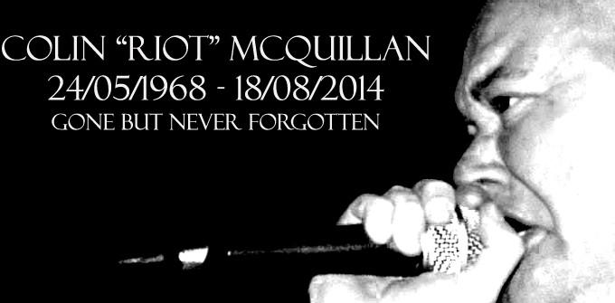 RIP Colin Running Riot