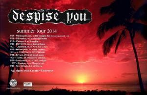 despise you tour