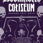 DOOMRIDERS & Coliseum will be hitting Europe this November!