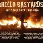 HELLO BASTARDS on tour!