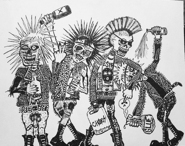 crust punk artwork - Google Search | Punk art