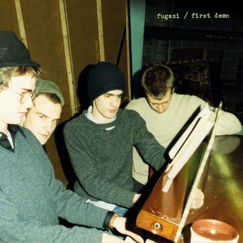 Fugazi first demo streaming now!!