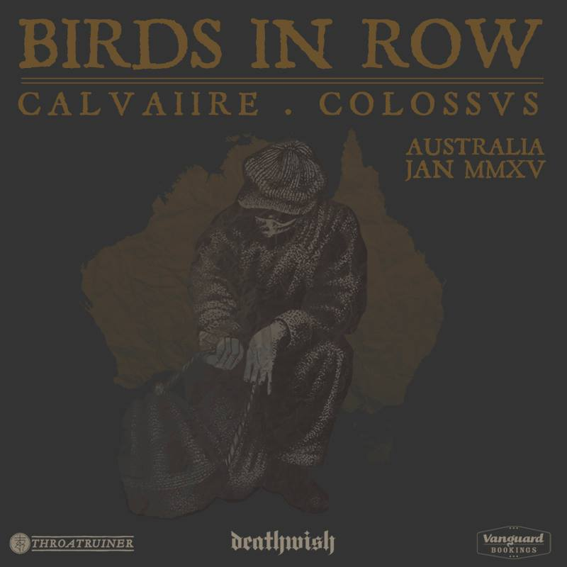 Birds in Row and CALVAIIRE to tour Australia