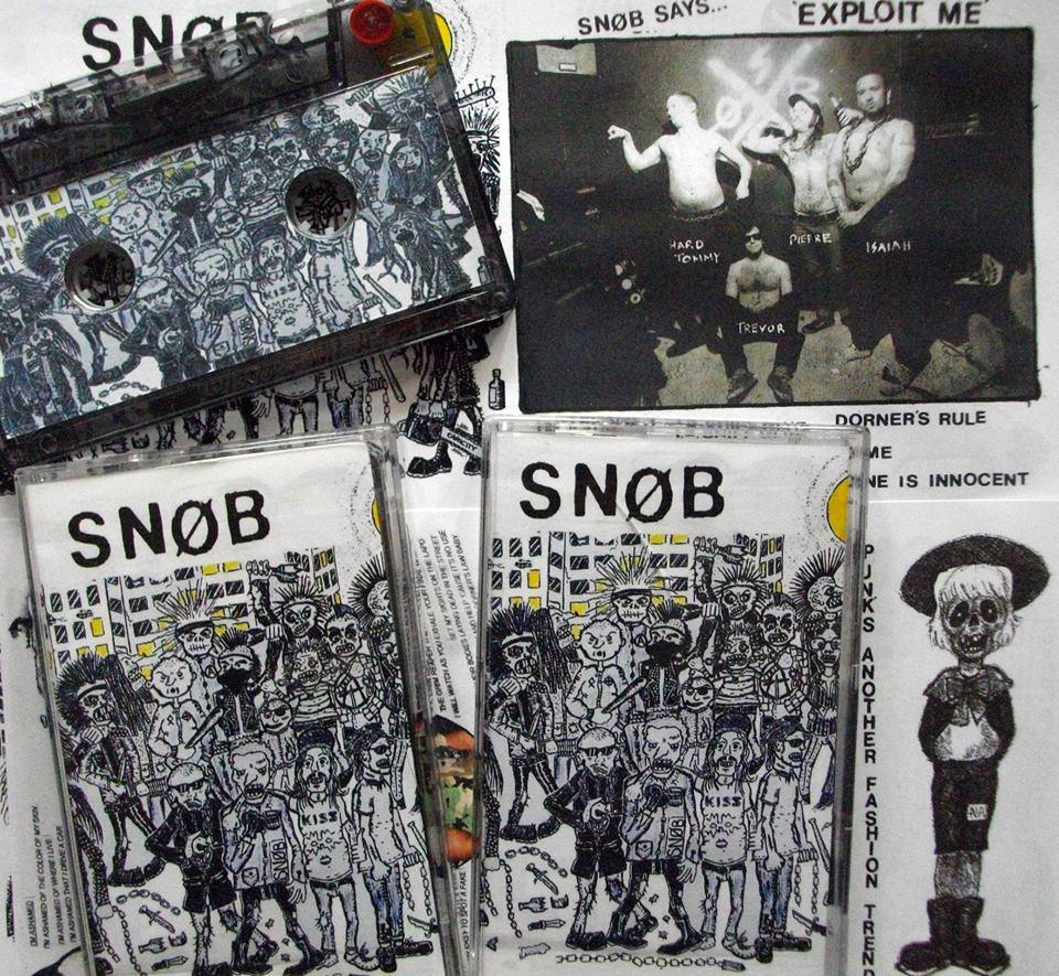Snøb – Exploit Me EP out on Cassette