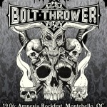 Bolt Thrower To Tour Canada