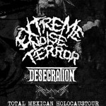 EXTREME NOISE TERROR Mexican Tour September 2015