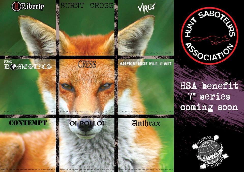 Hunt Saboteurs Association Vinyl Benefit Series