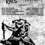 Council of Rats / Ruined Hands 2016 Tour
