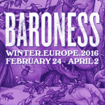 BARONESS European Winter Tour