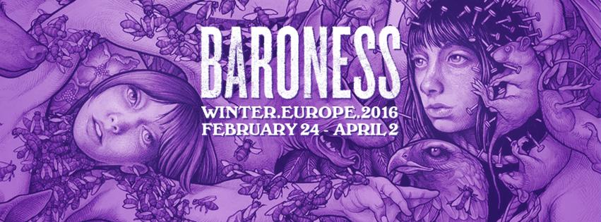 BARONESS European Winter Tour