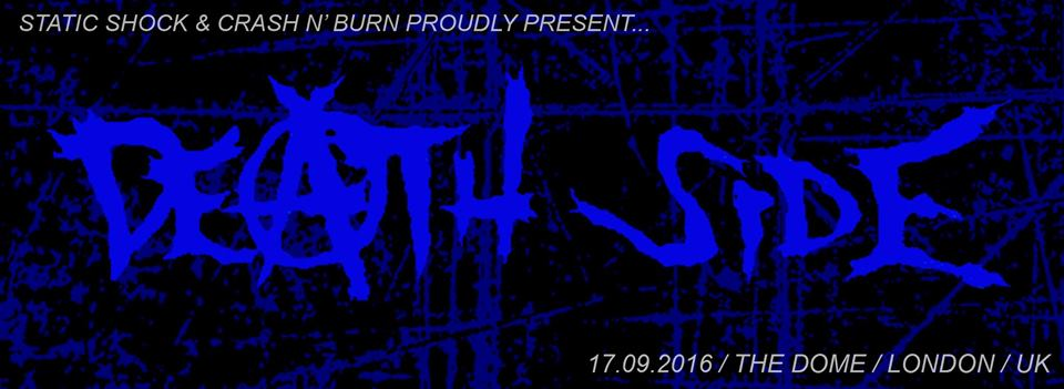 DEATH SIDE(Japan) To Play London