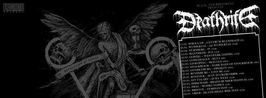 DEATHRITE European Tour