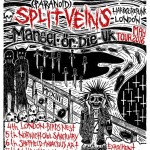 偏執症者 (Paranoid) w/ Split Veins UK tour in May