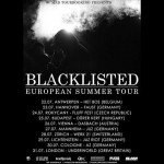 BLACKLISTED European Tour 2016