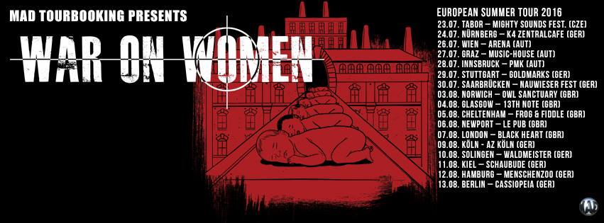 WAR ON WOMEN European Tour