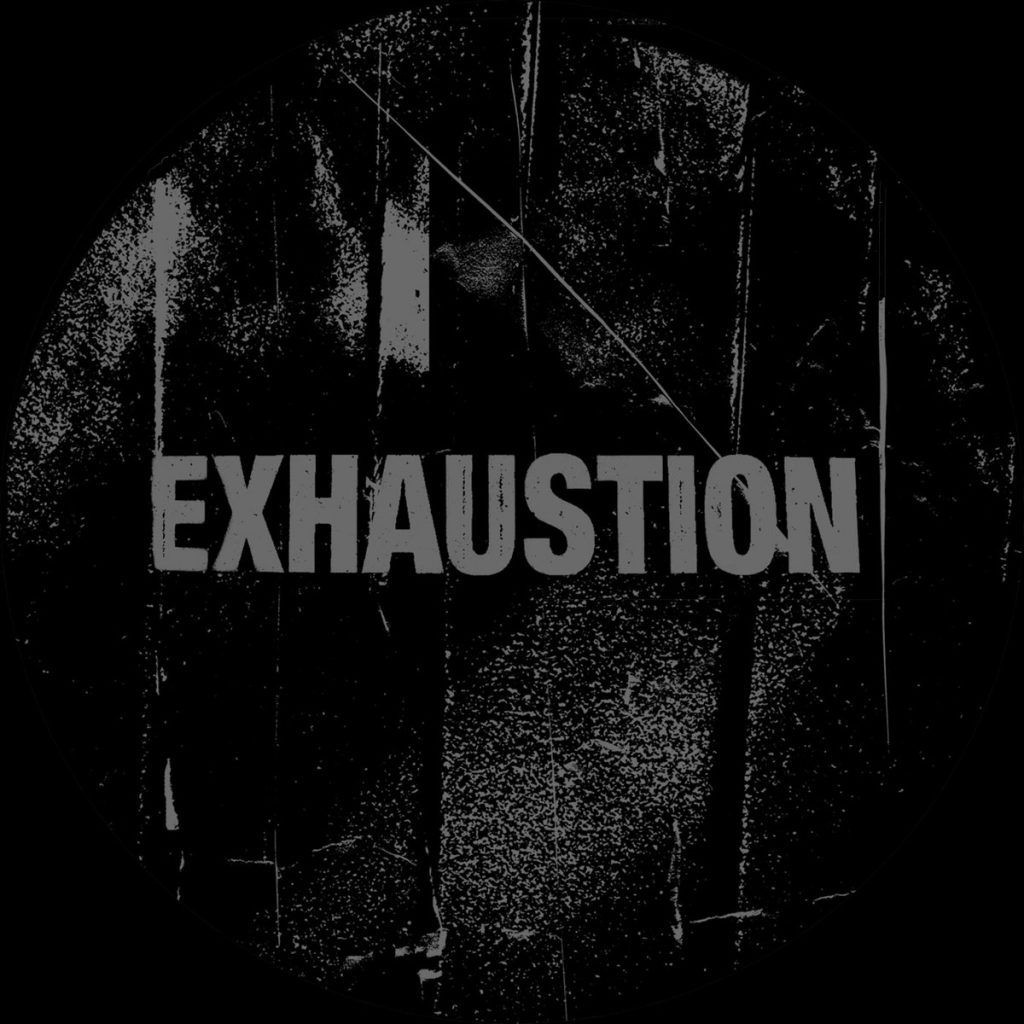 """EXHAUSTION – """"Surrended By The Depth"""" LP"""