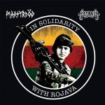 In Solidarity With Rojava – MARTYRDÖD / ADRESTIA split 7″