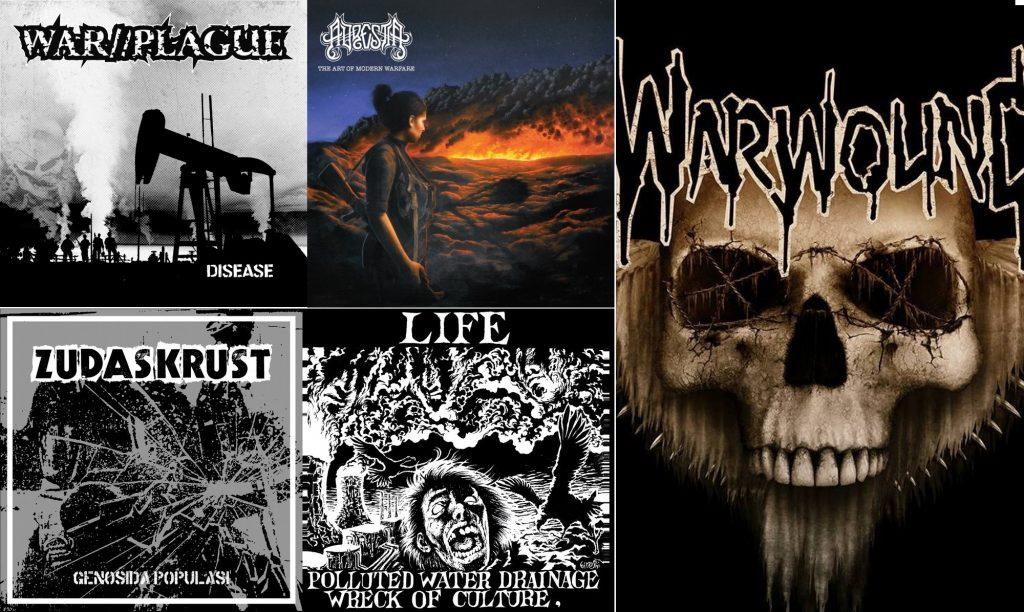 News Round Up: Adrestia, War/Plague, Warwound, LIFE, Zudas Krust