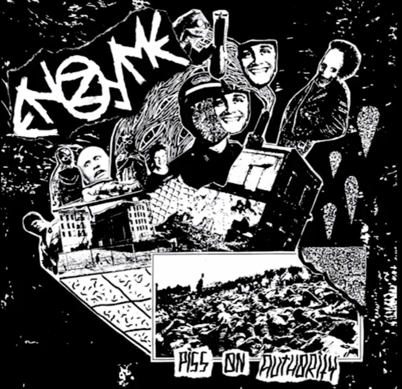 "Listen To ENZYME ""PISS ON AUTHORITY"""